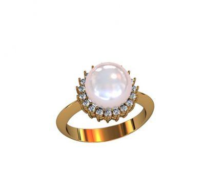 Необычное женское кольцо