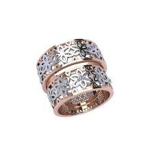 Обручальные кольца широкие