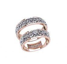 Обручальные кольца узорные