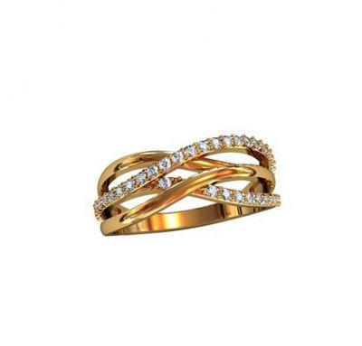 Классическое кольцо женское