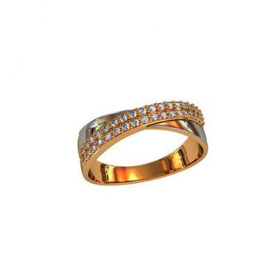 Женское кольцо элегантное