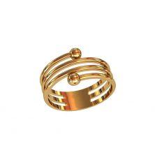 Кольцо Cartier тройное