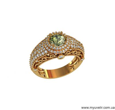 Женское кольцо Tiffany