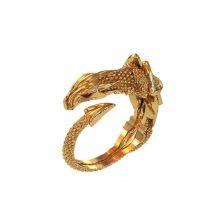 Кольцо в виде дракона