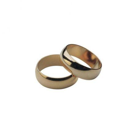 Обручальные кольца классика