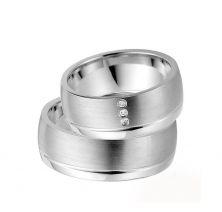 Свадебные кольца классические