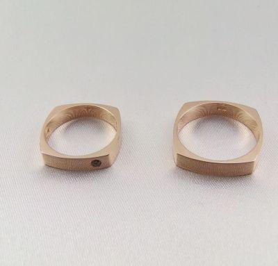 Обручальные кольца интересные