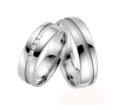 Золотые свадебные кольца канавки