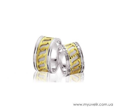 Обручальные кольца эксклюзив