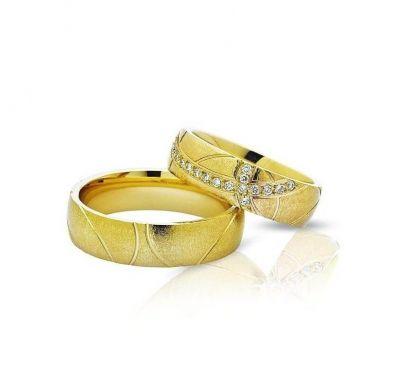 Эксклюзивные свадебные кольца