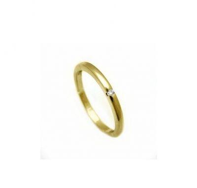 классическое венчальное кольцо