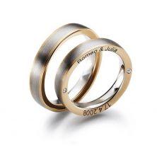 Свадебные кольца именные