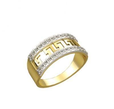 Женское кольцо Versace