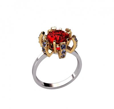 Эксклюзивное женское кольцо