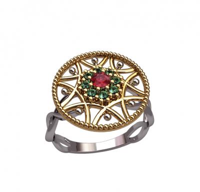 Женское кольцо Chanel