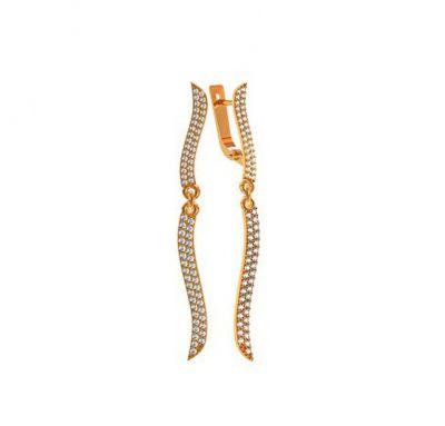 Женские серьги длинные