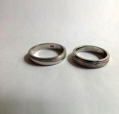 Обручальные кольца обычная класика