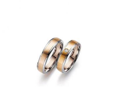Обручальные кольца три части