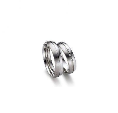 Венчальные кольца с камушками