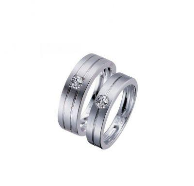 Обручальные кольца под бриллиант