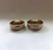 Обручальные кольца элегантные