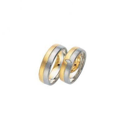 Свадебные кольца два вида золота