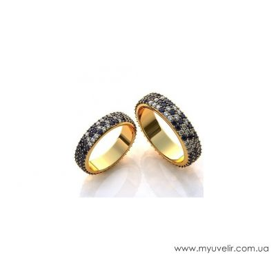 Венчальные кольца эксклюзив