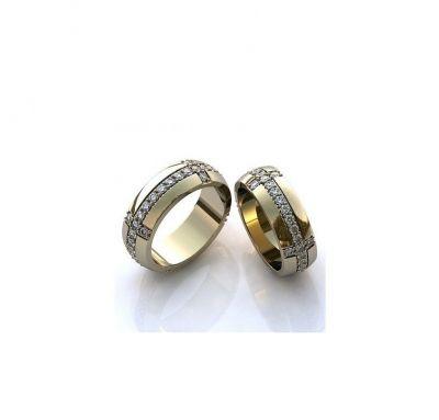 Обручальные кольца массивные