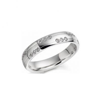 Свадебное кольцо блеск