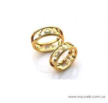 Обручальные кольца  I Love You