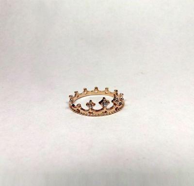 Кольцо Корона золото