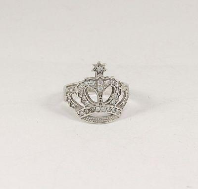 Женское кольцо в виде короны