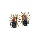 Серьги паук