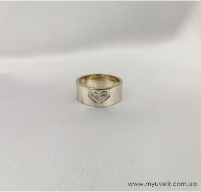 Обручальные кольца с сердцем