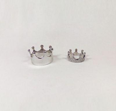 Обручальные кольца из золота короны
