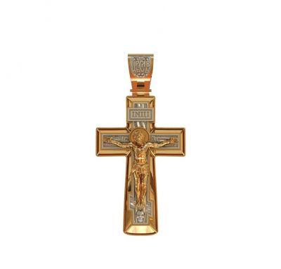 Мужской крест массивный