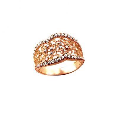 Женское кольцо филигрань