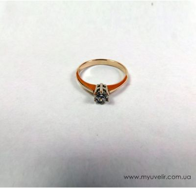Кольцо под бриллиант