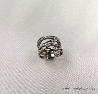 Эксклюзивное кольцо из серебра