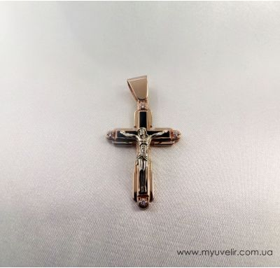 Крестик с ониксами