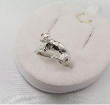 Женское кольцо пантера