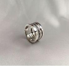 Кольцо под бренд Bvlgari
