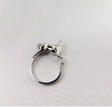 Кольцо в виде лошади