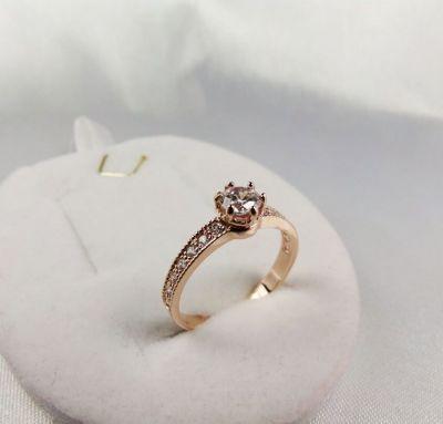 Женское кольцо для предложения