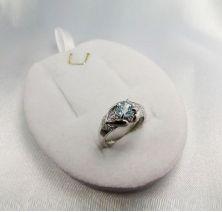 Женское кольцо глаз