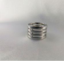 Обручальные кольца четыре секции