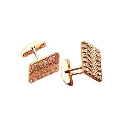 Запонки мужские из золота