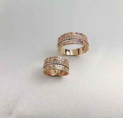 Обручальные кольца бренд Versace
