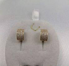 Сережки женские с камнями