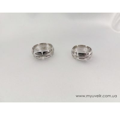 Обручальные кольца сложные